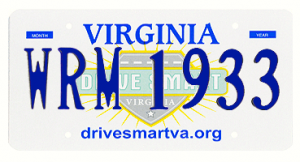 According to the VA DMV this plate is already taken, Papa wants to meet the owner.