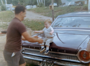 Papa and Doug 1963 1/2 Ford Galaxie