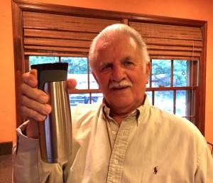 Papa's new cup
